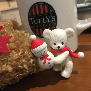 タリーズコーヒー(TULLY'S COFFEE)のふちベアフル ✨第2弾スノーマン(ノベルティグッズ)