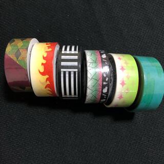 鬼滅の刃 マスキングテープ シール 煉獄 胡蝶しのぶ 蜜璃 冨岡義勇 無限列車(その他)