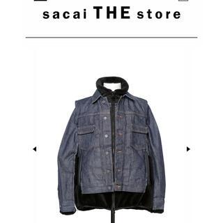sacai - Sacai a.p.c ブルゾン 新品未使用 サイズ3