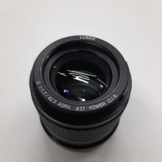 Panasonic - LUMIX G 42.5mm F1.7 ASPH. POWER O.I.S.