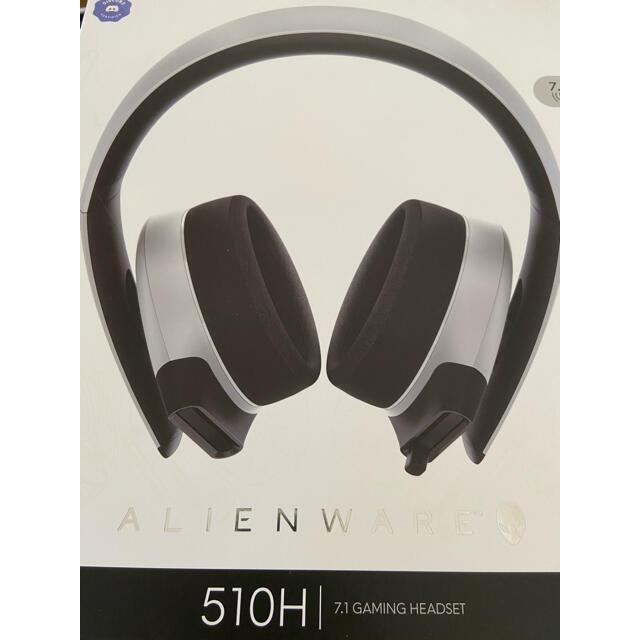 DELL(デル)のALIENWARE 7.1 ゲーミングヘッドセット(AW510H) スマホ/家電/カメラのオーディオ機器(ヘッドフォン/イヤフォン)の商品写真