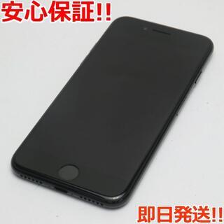 アイフォーン(iPhone)の新品同様 au iPhone7 128GB ジェットブラック (スマートフォン本体)