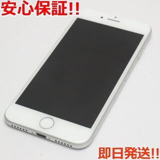 アイフォーン(iPhone)の新品同様 au iPhone7 32GB シルバー (スマートフォン本体)