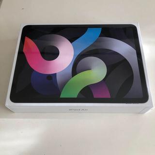 最新iPad Air (10.9インチ, Wi-Fi, 64GB)スペースグレイ