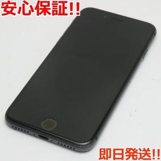 アイフォーン(iPhone)の良品中古 SIMフリー iPhone8 256GB スペースグレイ (スマートフォン本体)
