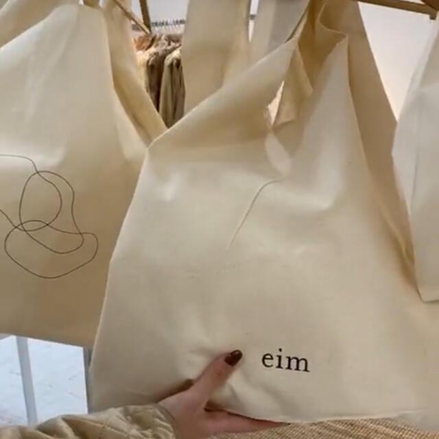 TODAYFUL(トゥデイフル)のeim エコバック Lサイズ レディースのバッグ(エコバッグ)の商品写真