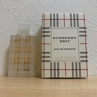 BURBERRY - BURBERRY バーバリー BRIT ブリット 香水 5ml 新品未使用