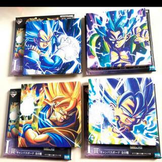 ドラゴンボール(ドラゴンボール)の一番くじ ドラゴンボール I賞 キャンパスボード 4種セット(キャラクターグッズ)