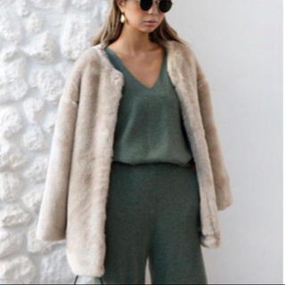 ルームサンマルロクコンテンポラリー(room306 CONTEMPORARY)のroom306contemporary Fur Coat(毛皮/ファーコート)