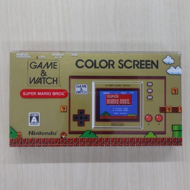 任天堂(ニンテンドウ)のゲームウオッチ スーパーマリオブラザーズ エンタメ/ホビーのゲームソフト/ゲーム機本体(携帯用ゲーム機本体)の商品写真