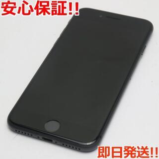アイフォーン(iPhone)の美品 DoCoMo iPhone8 64GB スペースグレイ ブラック (スマートフォン本体)