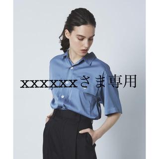 エヌナチュラルビューティーベーシック(N.Natural beauty basic)のNORC トロミCPOシャツ(シャツ/ブラウス(半袖/袖なし))