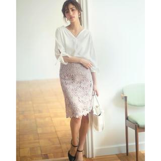 GRL - フラワーレースタイトスカート