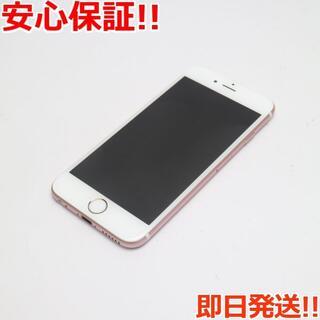 アイフォーン(iPhone)の美品 SOFTBANK iPhone6S 16GB ローズゴールド (スマートフォン本体)