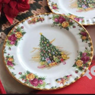ロイヤルアルバート(ROYAL ALBERT)のロイヤルアルバート  クリスマス プレート(食器)