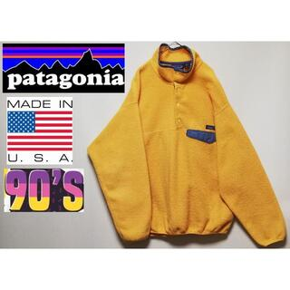 patagonia - 482 90年代 パタゴニア スナップT L USA SYNCHILLA