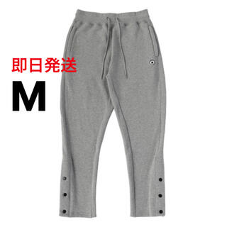 Mサイズ EXAMPLE SIDE BUTTON SWEAT PANTS