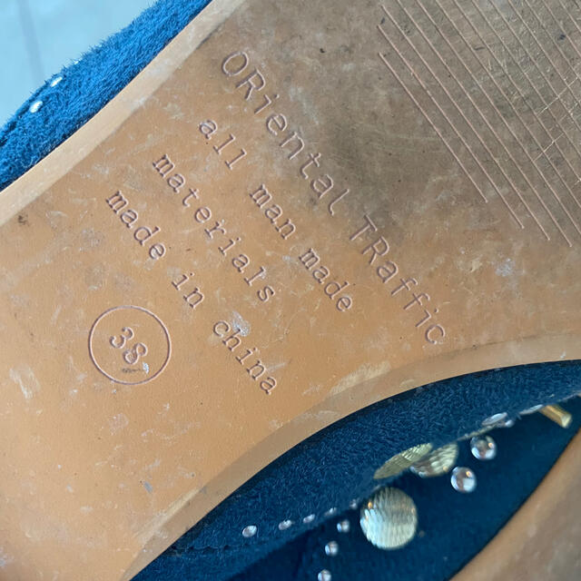 ORiental TRaffic(オリエンタルトラフィック)のオリエンタルトラフィック パンプス フラットシューズ バレエシューズ レディースの靴/シューズ(ハイヒール/パンプス)の商品写真