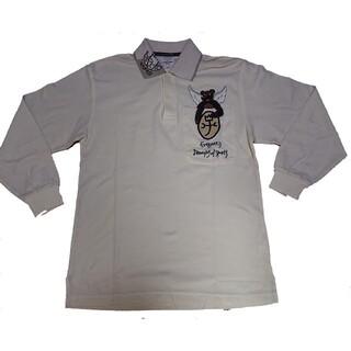 カステルバジャック(CASTELBAJAC)のカステルバジャックポロシャツワッペン刺繍美品(ポロシャツ)