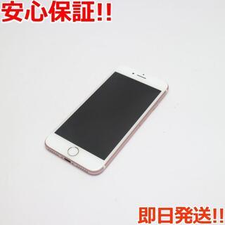アイフォーン(iPhone)の超美品 DoCoMo iPhone7 32GB ローズゴールド (スマートフォン本体)
