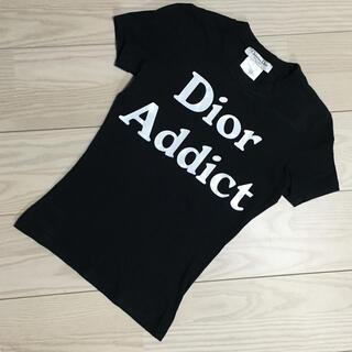 Christian Dior - Dior Addict Tシャツ ブラック サイズ36