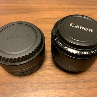 Canon - Canon マウントアダプター & EF50mmF1.8Ⅱセット