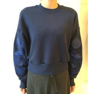 mame - mame kurogouchi 刺繍スウェット
