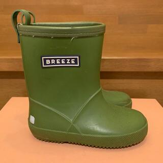 BREEZE - BREEZE 子供 長靴 カーキ 15cm