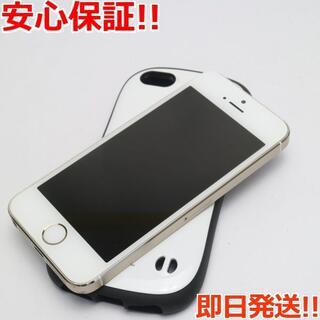 アイフォーン(iPhone)の美品 判定○ iPhone5s 16GB ゴールド (スマートフォン本体)