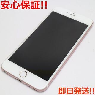 アイフォーン(iPhone)の美品 SIMフリー iPhone6S PLUS 64GB ローズゴールド (スマートフォン本体)