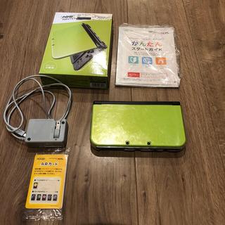 ニンテンドー3DS - Nintendo 3DS NEW ニンテンドー 本体 LL ライム/ブラック