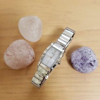 SEIKO - 最終価格🌕SEIKO ダイヤモンド ルキア ソーラー腕時計