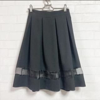 ROJITA - クチュールバイロジータ♡ブラックすけフレアスカート