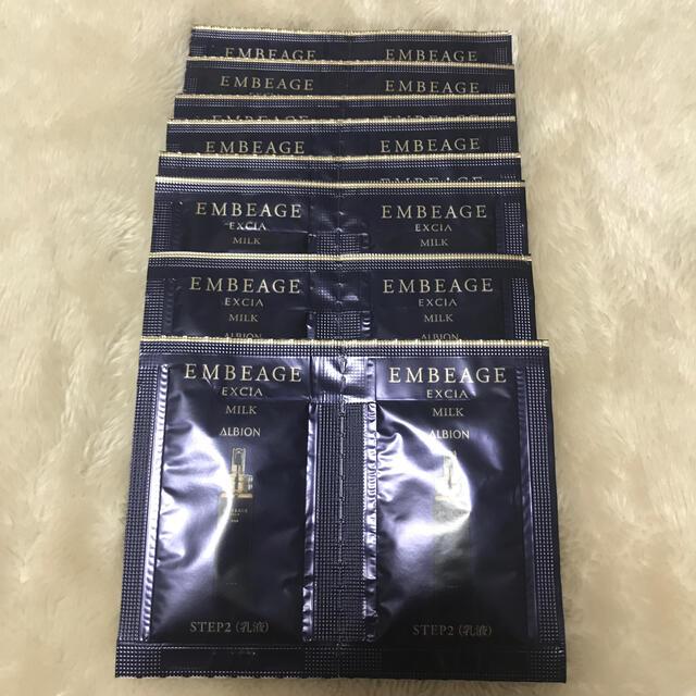ALBION(アルビオン)のアルビオン エクシアアンベアージュ ミルク 16包 コスメ/美容のスキンケア/基礎化粧品(乳液/ミルク)の商品写真
