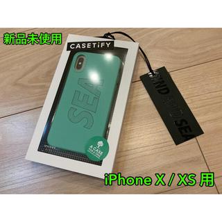 SEA - WIND AND SEA CASETiFY iPhone X/XS GREEN