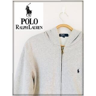POLO RALPH LAUREN - ■送料無料■ポロラルフローレン パーカー ホワイト サイズ160 ユニセックス