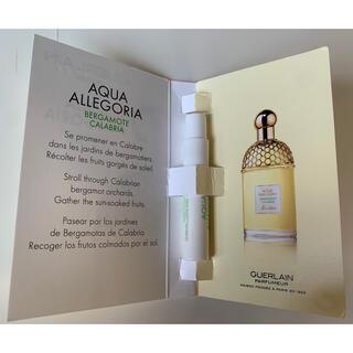 ゲラン(GUERLAIN)のアクア アレゴリア ベルガモット カラブリア  オーデトワレ 0.7ml(香水(女性用))