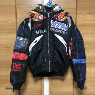 Vetements Alpha Racing Bomber Jacket