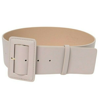 eimy istoire - eimy istoire Eco Lether Wide Buckle Belt