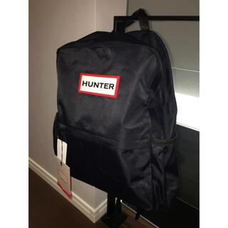 ハンター(HUNTER)の【新品・タグ付き】HUNTER ナイロンスモール バックパック ブラック(リュック/バックパック)