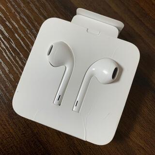 iPhone - 新品未使用 アイフォン iPhone 付属 純正 イヤホン 正規品