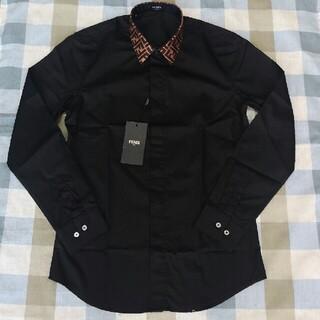 FENDI - 長袖 フェンディ シャツ ブラック
