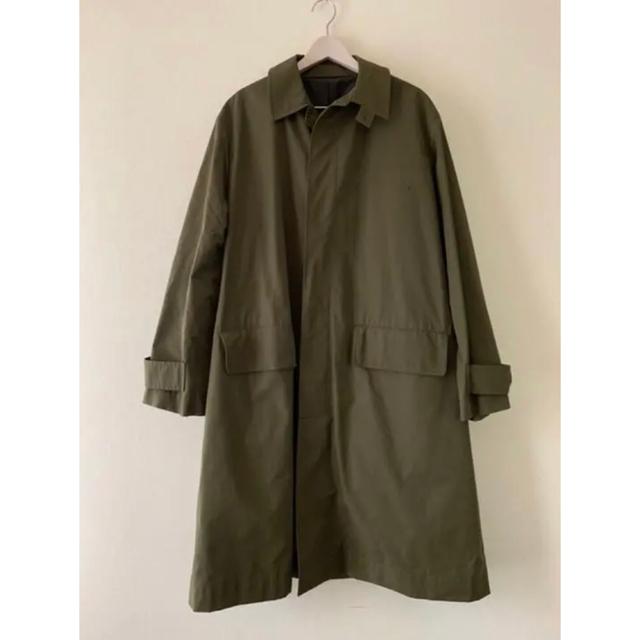 1LDK SELECT(ワンエルディーケーセレクト)のSTUDIO NICHOLSON NYMIL Technical Coat  S メンズのジャケット/アウター(ステンカラーコート)の商品写真