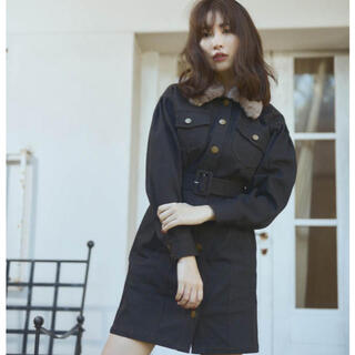 FRAY I.D - herlipto Belted Denim Mini Dress M