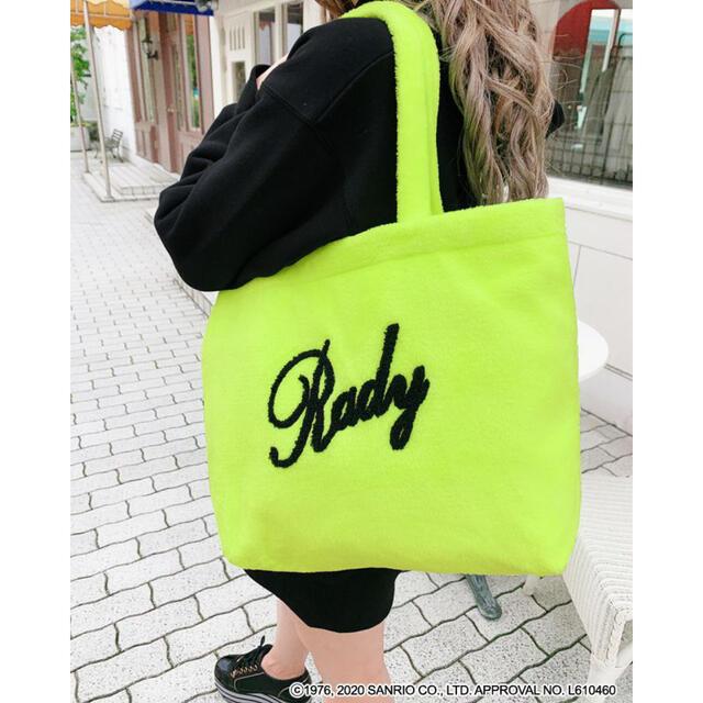 Rady(レディー)の《新品・未使用》ふわもこ♡Radyちゃんトート レディースのバッグ(トートバッグ)の商品写真