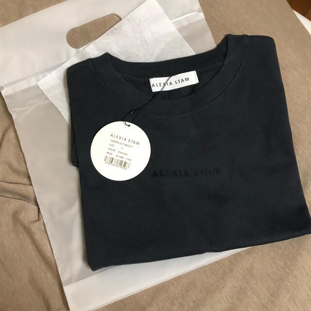 ALEXIA STAM(アリシアスタン)のアリシアスタン  Tシャツ レディースのトップス(Tシャツ(半袖/袖なし))の商品写真