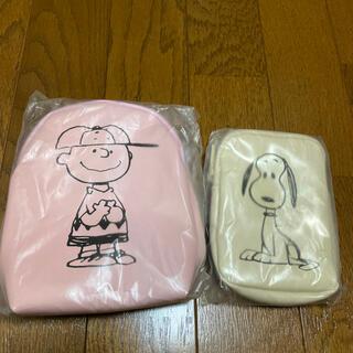 PEANUTS - SNOOPY 雑誌付録 ポーチ2点セット