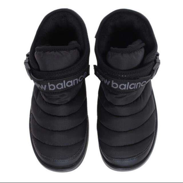 New Balance(ニューバランス)の新品 ニューバランス モックnewblance   MID ブラック 25 レディースの靴/シューズ(スニーカー)の商品写真