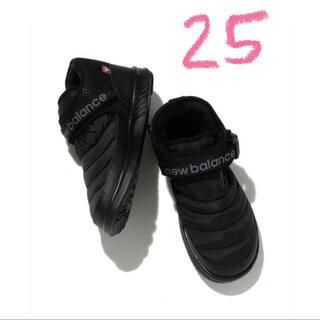 New Balance - 新品 ニューバランス モックnewblance   MID ブラック 25