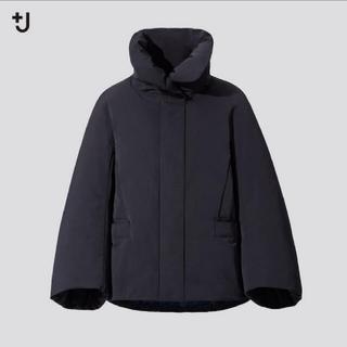 UNIQLO - +J ハイブリッドダウンジャケットSユニクロ ブラック ジルサンダー